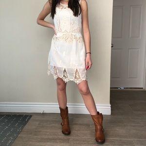 Zara | Boho embroidered dress